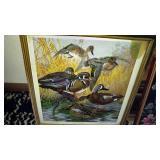 Vintage Christ Shepherd Flock Print.