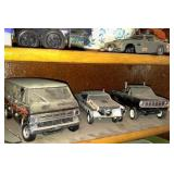 Wall Shelf with contents - see pictures for details. Model 1/25 scale cars.