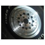4 Aluminum American Racing Rims. Excellent condition.