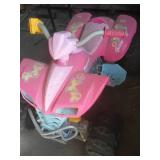 Barbie Battery operated, ATV, no battery or charger.