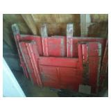 End gate for farm truck Box – good, parts.