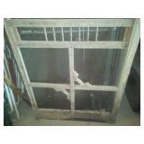 Wood Screen door (32 in.) & modern screen door (36 in.).