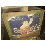 2 SnoBoy Apple Boxes.
