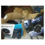 4 car stereo speakers  Scosche Brand – new & paint supplies.