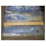 Ford Mercury Blue Valve covers - 3 pair nice.