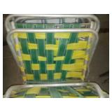 Lawn chairs & TV trays, Vintage Web.