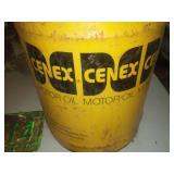 Vintage automotive. Cenex can