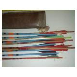 2 Quivers leather & Arrows.