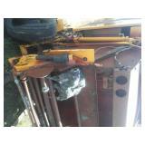 Vermeer 604M roll bailer sileage pickup, DCF wide Pickup. Fire victim