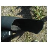 John Deere blower/ bagging tube system