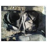 John Deere bag frame and bags, spare rear walk behind bagger.