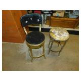 Vintage Chair and Stool