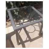 Patio Chair Set with Side Table