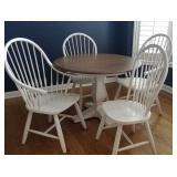 Ethan Allen Cameron Dining Table with 4 Chairs