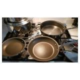 All Clad Cookware ~ 10 Piece Set