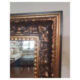 Striking Ornate Traditional Gilded Wall Mirror