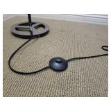 Pedestal Stick Floor Lamp with Stomp Switch