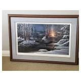 Terry Redlin Print ~ Sharing the Solitude 1343/2400