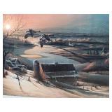 Terry Redlin Print ~ Delayed Departure 976/1500