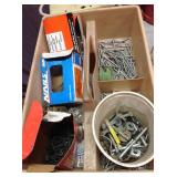 Nails, Screws, Drill Bits & More