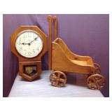 Clock & Wagon