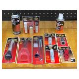 Box Lot Of Battery Maintenance Products & Etc -- See All Pictures