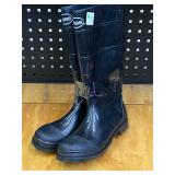 Pair Of New Boss Size-9 Rubber Boots