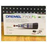 Dremel 7700 Cordless 7.2Volt Two-Speed Rotary Tool With 15-Piece Accessory Kit
