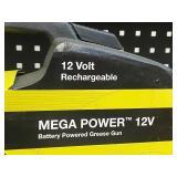 Legacy WorkForce Mega-Power 12Volt Cordless Grease Gun Set