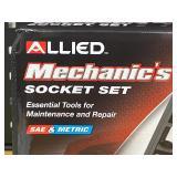 "Allied Mechanics 52-Piece 1/4"" -- 3/8"" -- 1/2"" Drive SAE & Metric Socket Set"