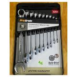 Pro-Grade 10-Piece Combination  SAE Wrench Set