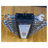 Allied Mechanics 22-Piece SAE / Metric Combination Wrench Set