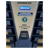 Pro-Grade XL 8-Piece Metric  Wrench Set