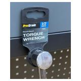 """Pro-Grade 1/2""""-Drive 0-150 Ft/Lbs Torque Wrench"""