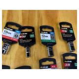 Box Of Pro-Grade 1/2 Drive SAE & Metric Sockets