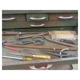 Stacking Toolchest Full of Tools