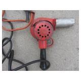 Heat Gun, Drill, Cord Adaptors