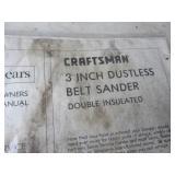 Belt Sander, Scroller Saw