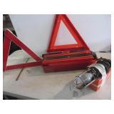 Safety Triangles, 12V Light