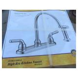 New Faucet, SS Sink