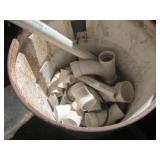 PVC Joints, Metal barrel