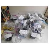 Lot of Cables, Cords, Speakers and Adapters