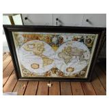 Geographic Picture in Frame