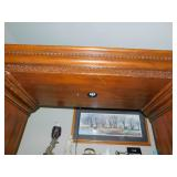 Large Wooden Hutch