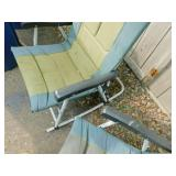 2 Gander Mountain Fold-Up Outdoor Rocking Chairs