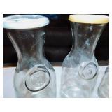 4 Glass Carafe
