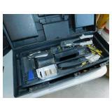 Rubbermaid Black Tool Box