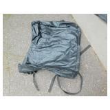 Black Car Top Bag