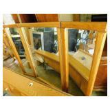 Wood Headboard/Mirror/Backboard/Frame