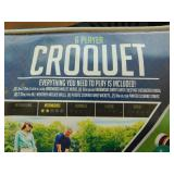 New Franklin 6 Player Croquet Set